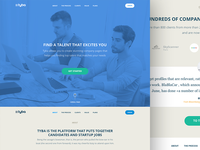 Tyba landing page