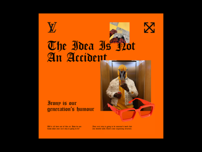 Virgil Abloh Record Cover