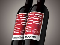 Red Cellar Winery Packaging
