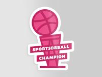 Sportsbbball Champ!