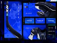 Hockey Stick Product Page UI
