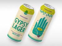 Gypsy Lager Beer Packaging