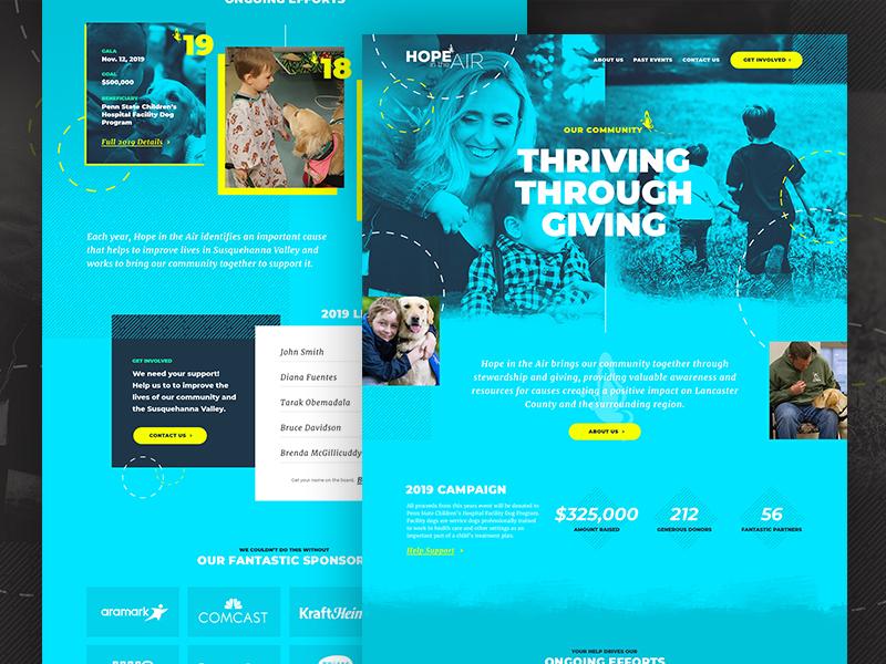 NonProfit Website Concept web design design nonprofit