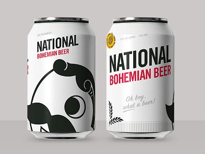 Boh Concept 1 branding design beer can beer