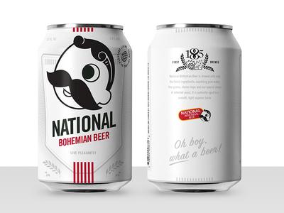 Boh Concept 3 illustration beer can design beer