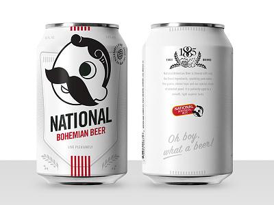 Boh Concept 3 Family illustration beer can design beer