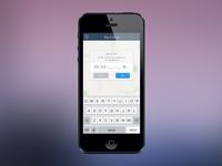 iOS Locate DLS Modal