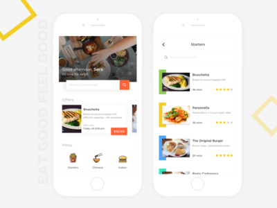 Food app-search/offers/menu