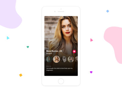 Dating app- Profile screen