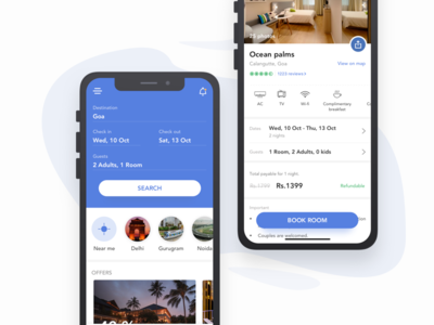 Search hotels