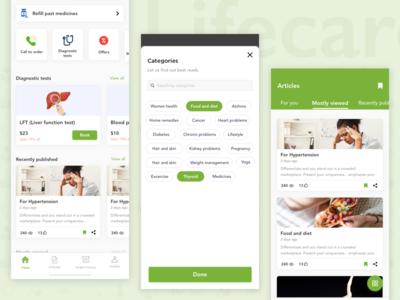Redesign - Lifcare pharmacy