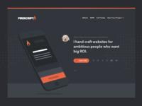 Firescript - My Companies Landing Page