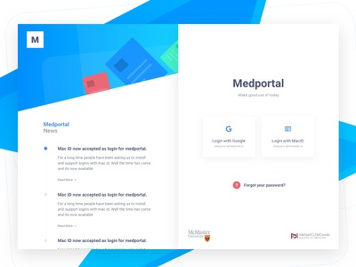 50 - 50 Landing Page login login page bright colors soft shadows white space web design
