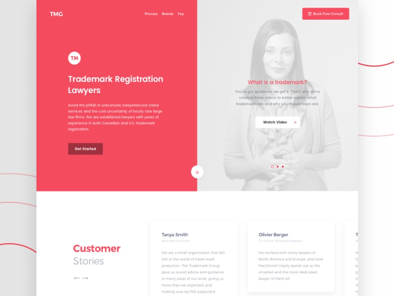 Final pick! 💯 grey slider red split padded ux ui login page bright colors soft shadows white space web design