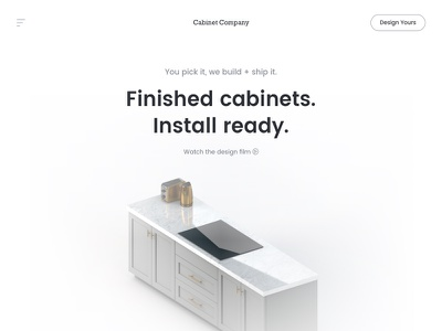 Went apple on em' 💯 design modern home page hero landing clean white space apple