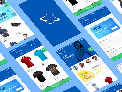 The Universe Free E Commerce Ui Kit ui kit free freeuikit mobile ui free ios kit free ui kit mobile ui kit kit ui mobile