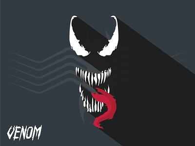 Venom illustration graphicart venom movie graphic art