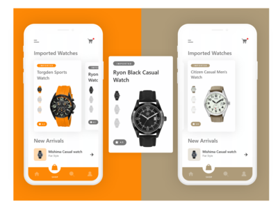 Imported watches App