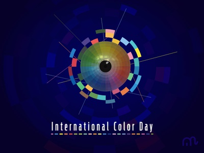 Happy International Color Day choice pallete cool warm internationalcolorday branding vector illustrations illustration 2d color