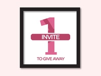Dribbble invite to give away!!