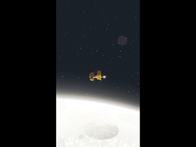 Chandrayaan 2 Lander Separation