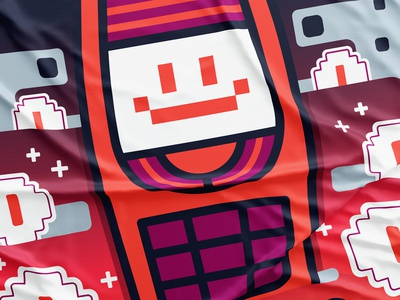 Sales Wizard flat line thick smile emoji sticker 3310 nokia