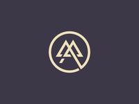M A Letter Logo