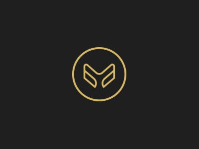 Stylish Letter M Logo by Tharish on Dribbble