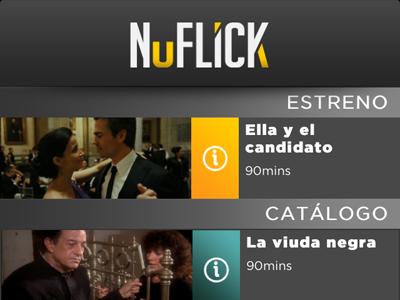 Nuflick iPhone app