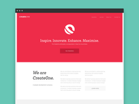 CreateOne Home Page