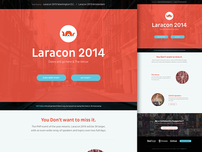 Laracon Site
