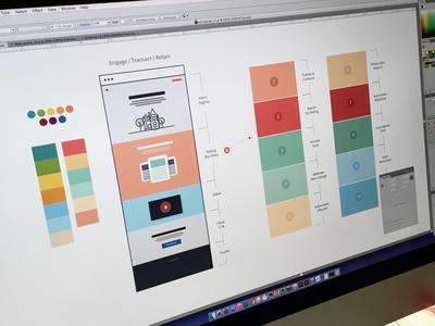 ActivePipe Concepting focus lab web design website branding wires concepting
