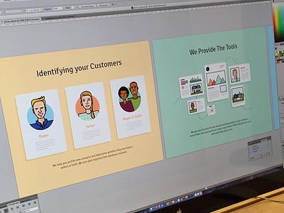 Active Pipe focus lab illustration web design branding marketing site