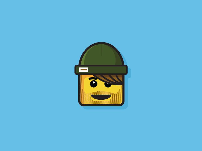 Lego Head by Charlie Waite on Dribbble