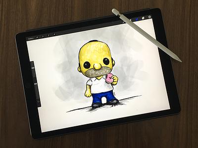 iPad Pro apple pencil ipadpro illustration sketching drawing