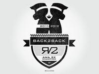 Ryan Villopoto Back 2 Back Champ Logo