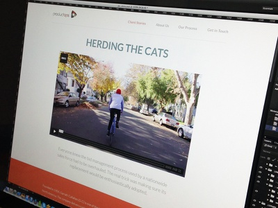 P-Ops Case Study colorkite web site case study web design hero image
