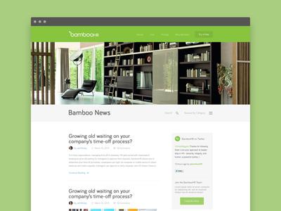 Bamboo Blog