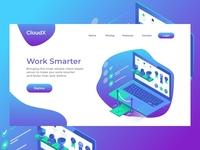 CloudX - Landing Page