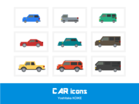 CAR icons - color