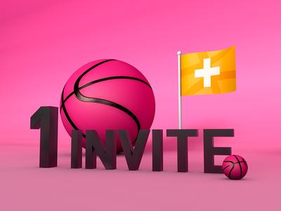 1 INVITE!