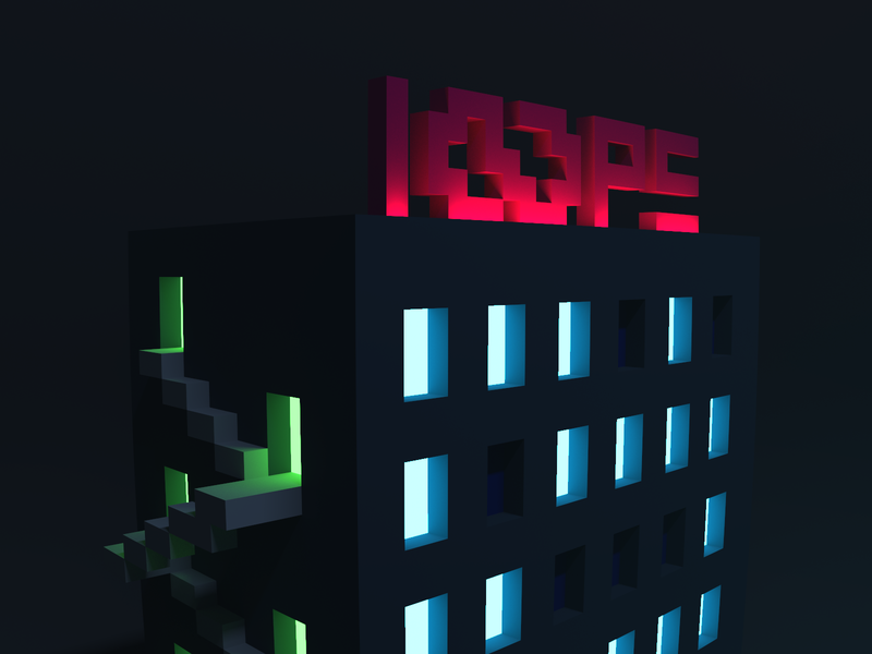 Loops Tower / part 2