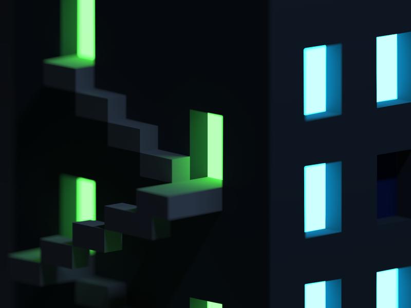 Loops Tower / part 3