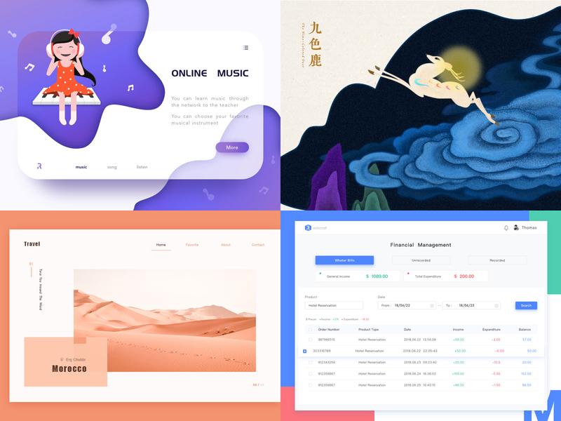 2018 web designbootstrap ui illustration