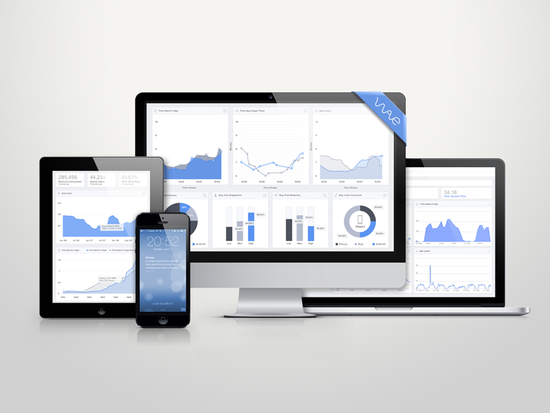 Dashboard dashboard responsive design ui ux app iphone imac ipad macbook interface ios7