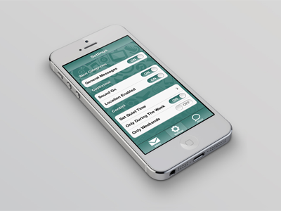 Test App target field test app ios apple geolocation push messenger messages testing