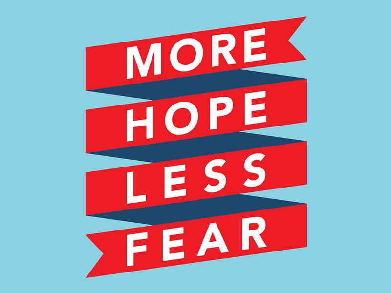 More Hope, Less Fear tiger pixel election obama go vote politics banner go vote candidates america united states democratic party govote victory future government