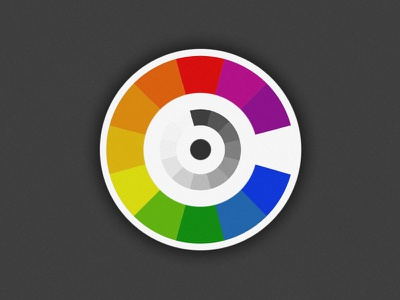 Color Cycle newton color cycle spectrum wheel logo round circle select rainbow colour picker gradient hues illustrative isaac newton icon carousel