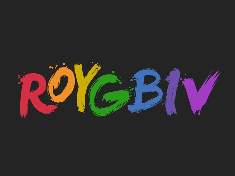 The Colorful Life of ROY G. BIV