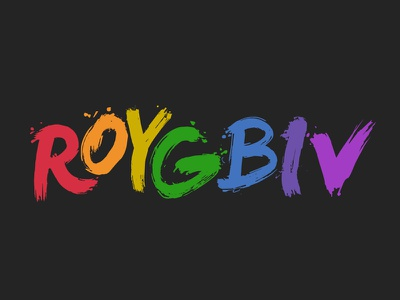 Roygbiv colors rainbow roygbiv red orange yellow green blue indigo violet spectrum boards of canada